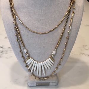 Stella & Dot Zuni Necklace versatile 3-in-1
